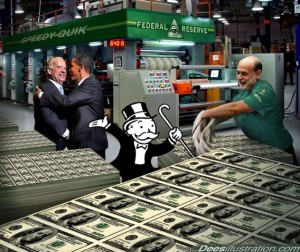 Fiat Currency with QE monry printing