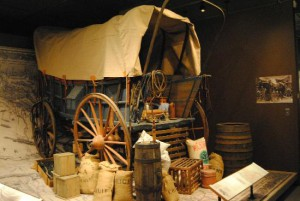 oregon trail wagon